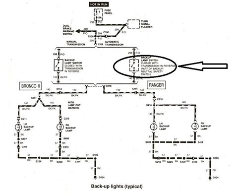 2011 ford ranger light wiring diagram wiring