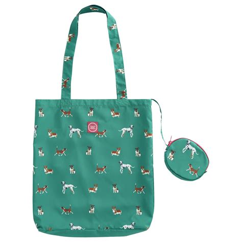 lyst joules eco bag shopper in green