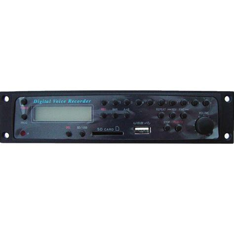 Rack Mount Mp3 Player by Rolls Hr73 Rack Mount Mp3 Recorder Player Hr73 B H Photo