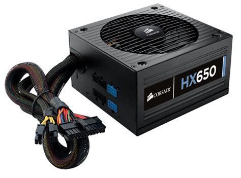 alimentatore power supply hx series hx650 power supply 650 watt 80 plus 174 gold