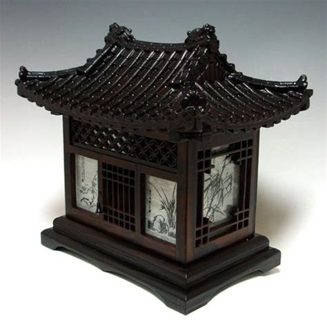 traditional korean house design wood l shade handmade traditional korean house design art lantern brown asian