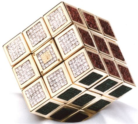 Most Expensive Mat by Most Expensive Rubik S Cube In The World