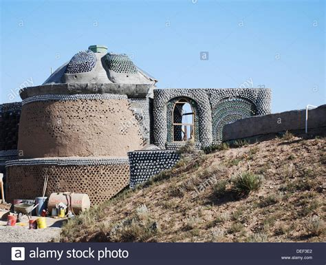 earthship  house stock  earthship  house stock images alamy