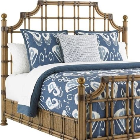 tommy bahama headboard tommy bahama twin palms st kitts twin rattan headboard
