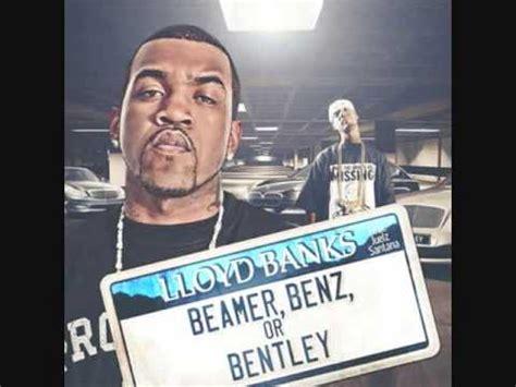 Lyrics Beamer Or Bentley Lloyd Banks Feat Juelz Santana Beamer Or Bentley
