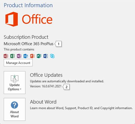 Microsoft Office Version About Office What Version Of Office Am I Using Office