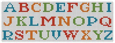 lettere alfabeto punto croce schemi alfabeto punto croce bavaglini buongiornissimocaffe it