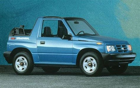 1998 chevrolet tracker oil type specs view manufacturer details