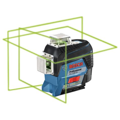 Bosch Gll3 80 Laser Level Berkualitas Bosch Gll 3 80cggd Bosch Self Levelling 360 176 Connected