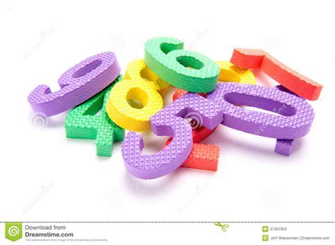 S Foam pile of numbers stock image image of green kindergarten