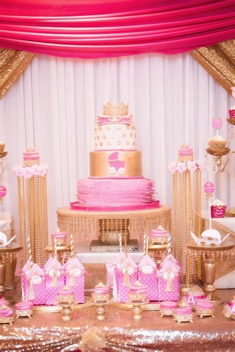 Princess Theme Baby Shower Decoration Ideas by Kara S Ideas Royal Princess Baby Shower Kara S