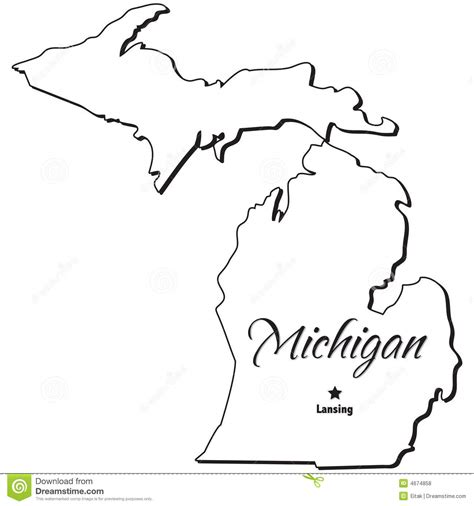 State Of Michigan Search Michigan Map Outline Search Results Calendar 2015