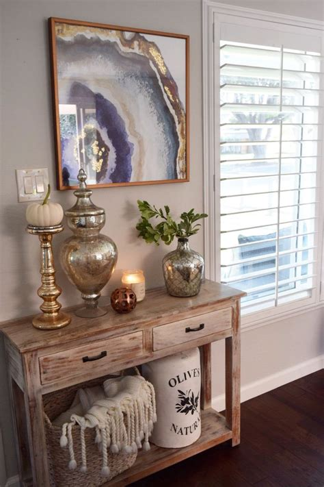 25 best ideas about console table decor on
