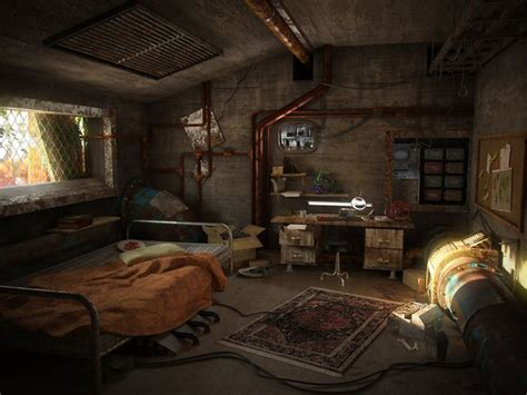 Apocalypse Room by A Post Apocalyptic Room By Hrormir Concept