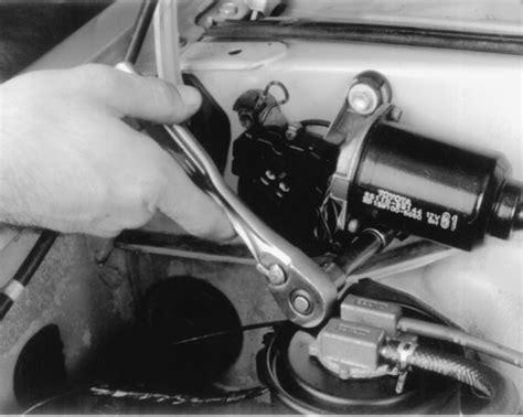 repair windshield wipe control 2001 toyota sienna user handbook repair guides windshield wipers washers windshield wiper system autozone com