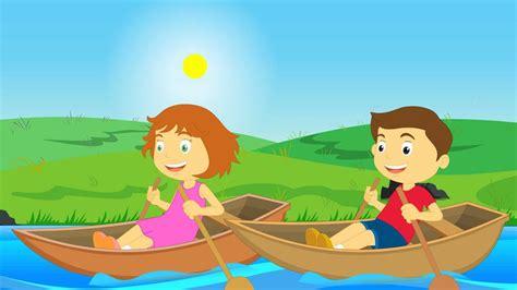 row row row your boat lyrics little baby bum row row row your boat nursery rhymes youtube