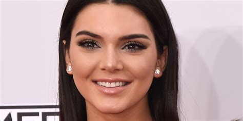 kendall jenner with a kendall jenner poses in digitally enhanced