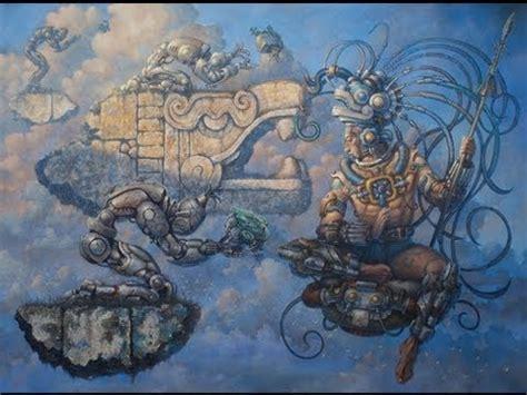 Aztec Calendar Hadron Collider La Leyenda Conejo En La Leyenda