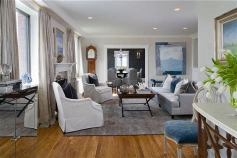 houzz grey living room delorme designs the grays