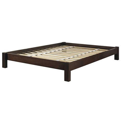 mahogany bed frame greenhome123 modern platform bed frame in mahogany wood