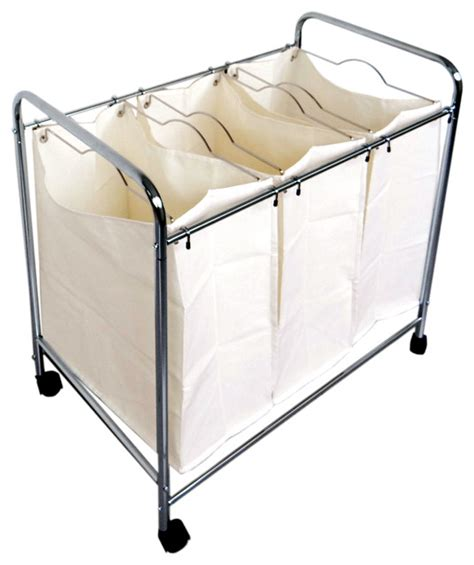 laundry divider 3 divider laundry her hers by proman products