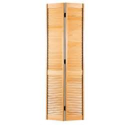 Bifold Louvered Closet Doors Home Fashion Technologies 28 In X 80 In 3 In Louver Louver White Composite Interior Bi Fold