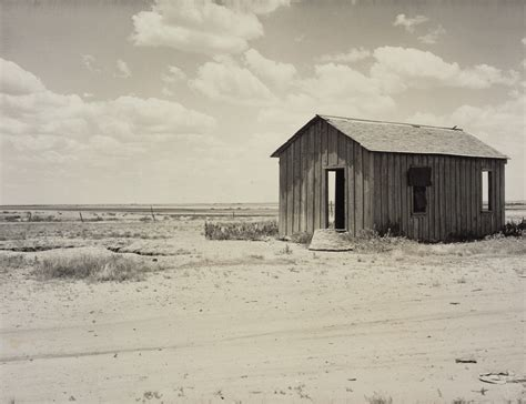 abandoned dust bowl home getty museum