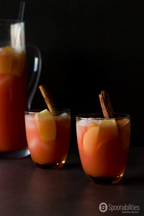 apple persimmon punch this worthey life caramel apple cider vodka punch spoonabilities