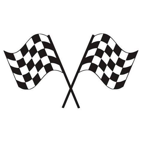 checkered flag tattoo designs checkered flag racing sticker sticker by imagemonkey