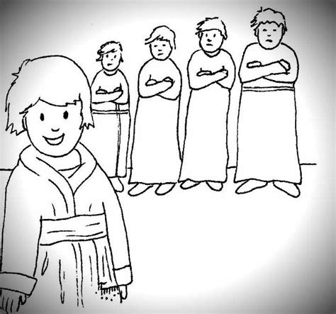 coloring pages joseph and his brothers joseph and his brothers coloring pages coloring home