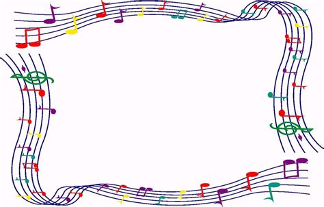 musica clipart song clipart frame pencil and in color song clipart frame
