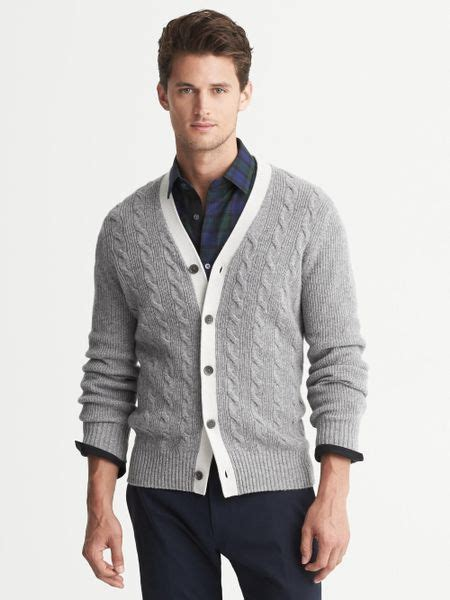 Sweater Rajut Cable Sweater Rajut Dusty Sweater Size Jumbo 3 banana republic cable knit cardigan dusty grey in gray for dusty grey lyst