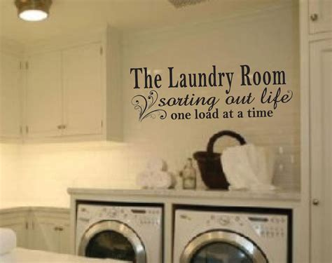 laundry room sticker wall laundry room vinyl wall decal sticker ebay