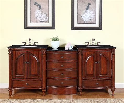 83 inch bathroom vanity 83 inch traditional bathroom vanity with a black