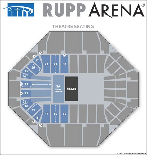 rupp arena floor plan rupp arena floor plan meze blog