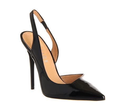slingback high heels office jade slingback point black patent high heels