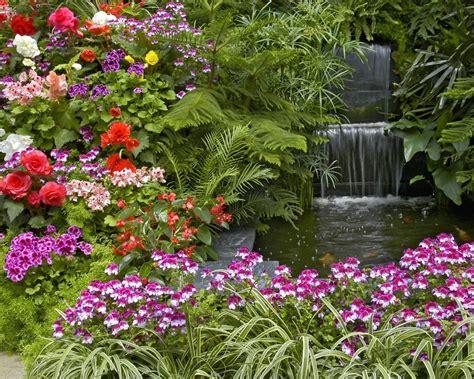 imagenes de jardines soñados paisaje con flores 1280x1024 fondos de pantalla y