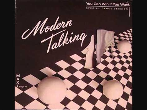Dancow Verio modern talking you can win if you want special