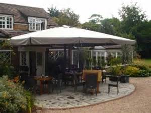 Umbrella Gazebo by Spaceshade Large Umbrella Parasol Gazebo And Pergola