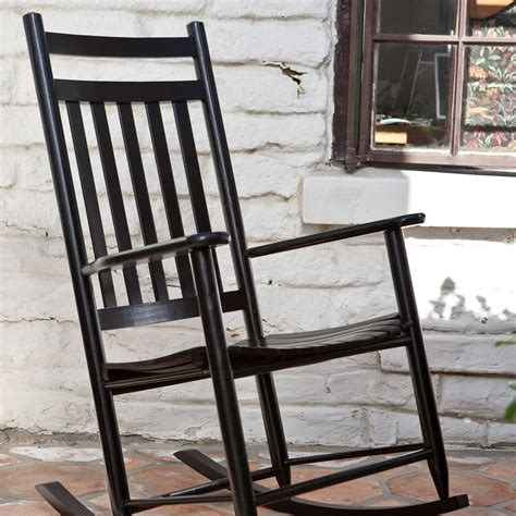 white wood outdoor rocking chair modern patio outdoor