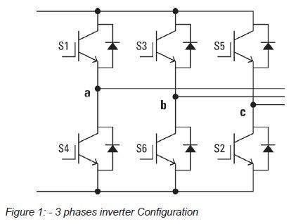 3 phase inverter circuit diagram dc to 3 phase ac inverter circuit diagram circuit and
