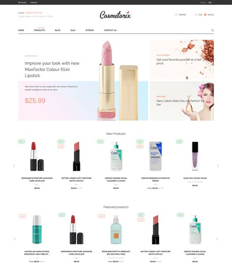 shopify themes beauty 20 of the best shopify themes for cosmetics beauty