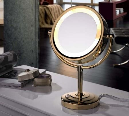 Makeup Mirror With Light by Lighted Cosmetic Mirrors Kitchenbathroomfixtures