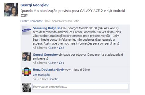 Samsung Ace 3 Ter Update samsung galaxy ace 2 e s advance ir 195 o pular o update ics e