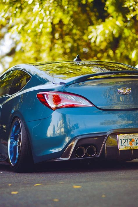 slammed cars iphone wallpaper cars tuning hyundai genesis coupe stance slammed camber