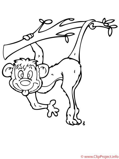 mono dibujo  colorear gratis
