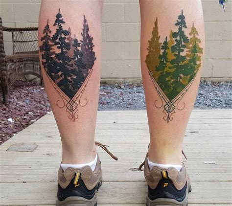 evergreen tree tattoo tree tattoos designs and meanings flowertattooideas