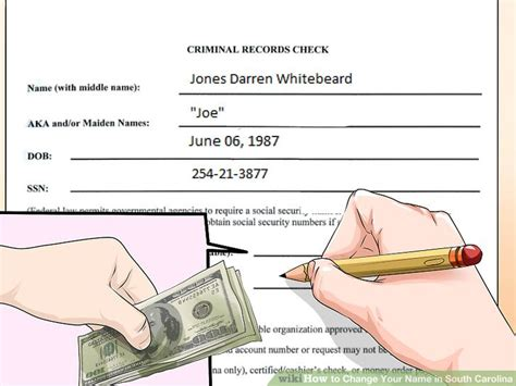 If I Change My Name Will My Criminal Record Follow Me 4 Ways To Change Your Name In South Carolina Wikihow