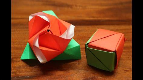 download video membuat origami bunga mawar step by step membuat origami kotak ajaib bunga mawar youtube