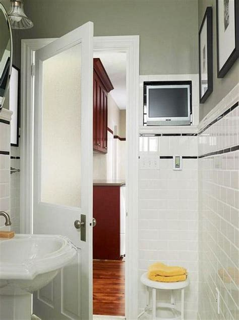 small bathroom solutions clever solutions for small bathrooms paperblog